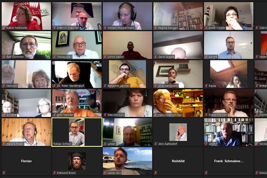 Videokonferenz am 18.08.2020