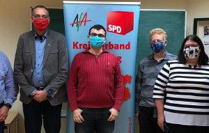 v.L.: Andreas Roß, Ullrich Gailun, Benjamin Larcher, Jens Wersig, Aurelia Kreutzmann, Bengt Bergt