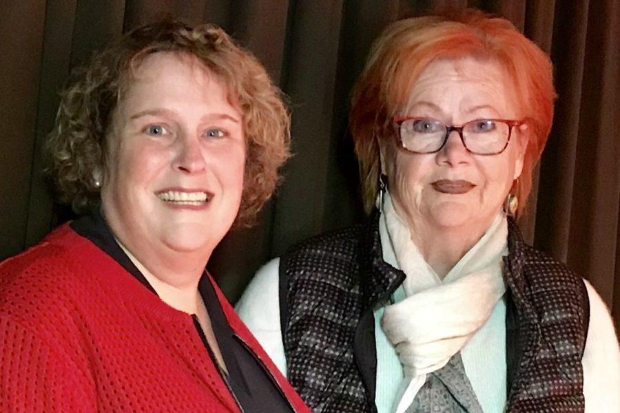 Fordern den Weiterbau der A 20: Katrin Fedrowitz und Edda Lessing (SPD)